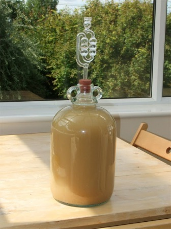 Как сделать домашнее вино из яблок (3)
