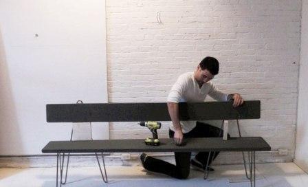 Как сделать скамейку своими руками (6)