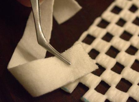 Как сделать коврик самой (4)