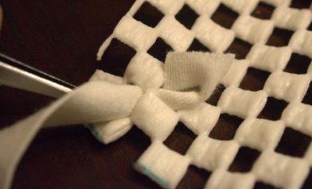 Как сделать коврик самой (5)