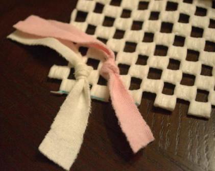Как сделать коврик самой (7)