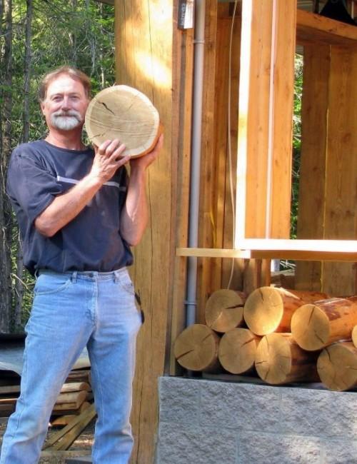 как сделать деревянный пол 1