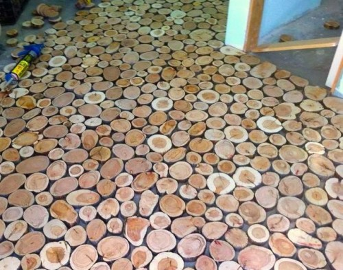 как сделать деревянный пол 5